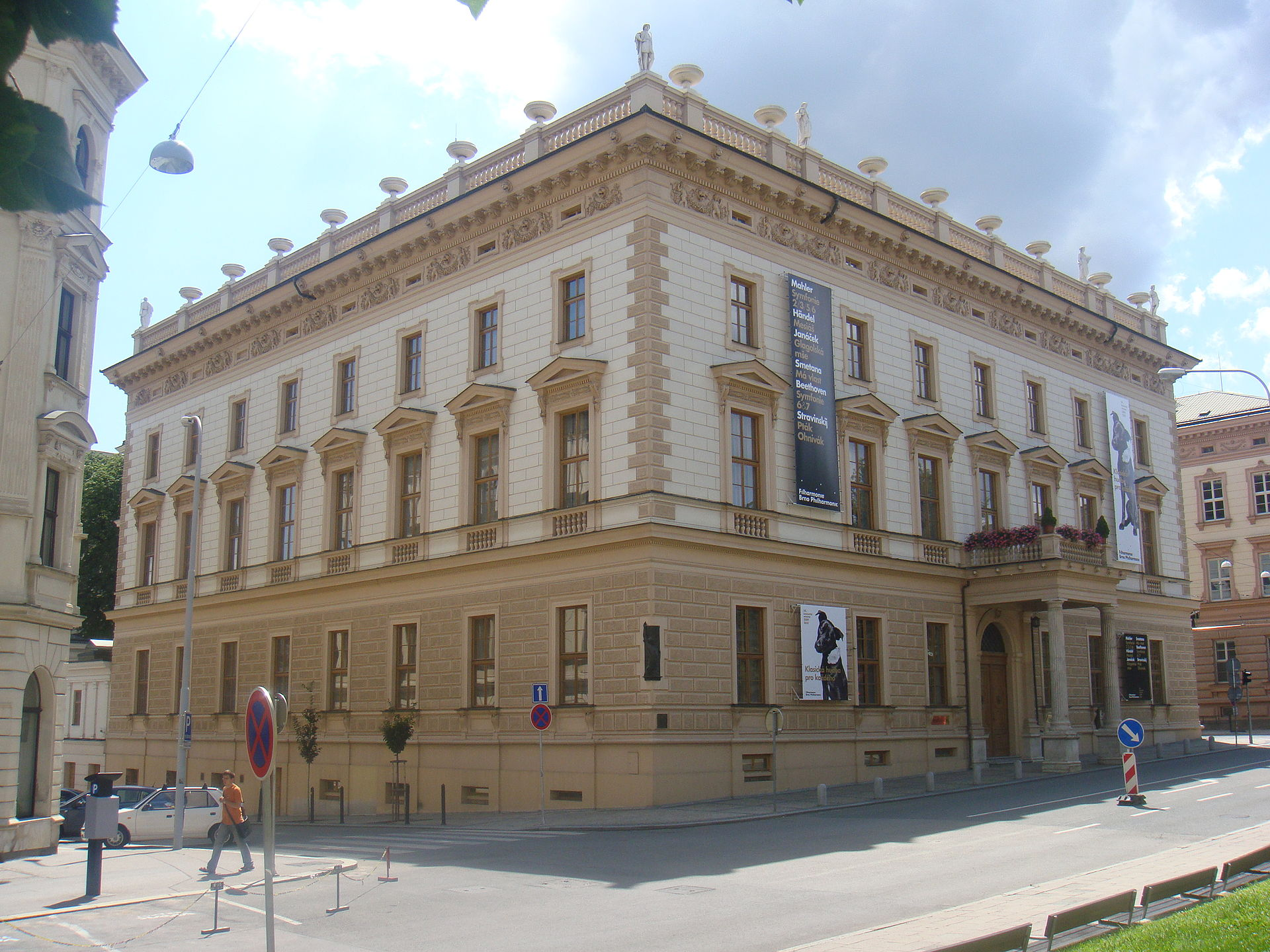 The Besední House in Brno
