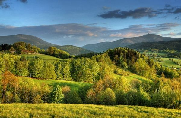 Beskids Mountains