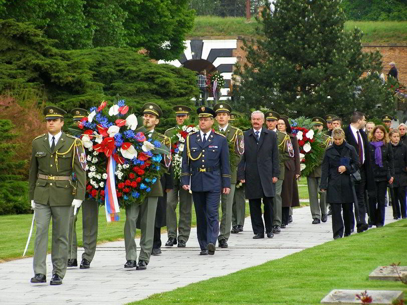 Pay your respects at a memorial to all the victims of the Nazi genocide in the Czech lands.