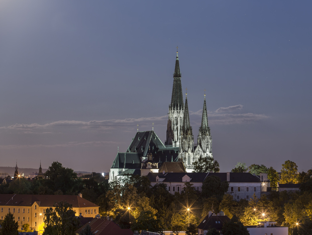 St. Wenceslas Cathedral in Olomouc