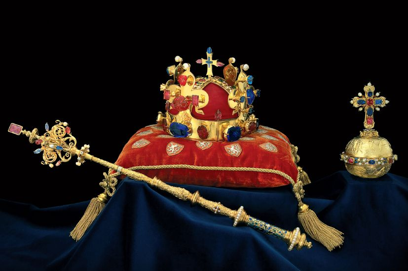 Charles IV and Czech royal coronations.
