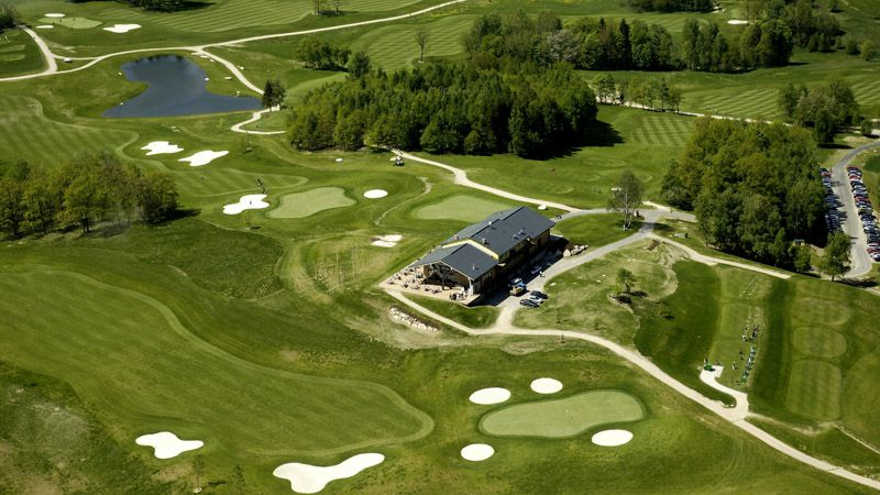 Гольф-клуб «Ypsilon Golf Resort» в г. Либерец