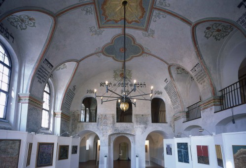 The Front Synagogue in Třebíč