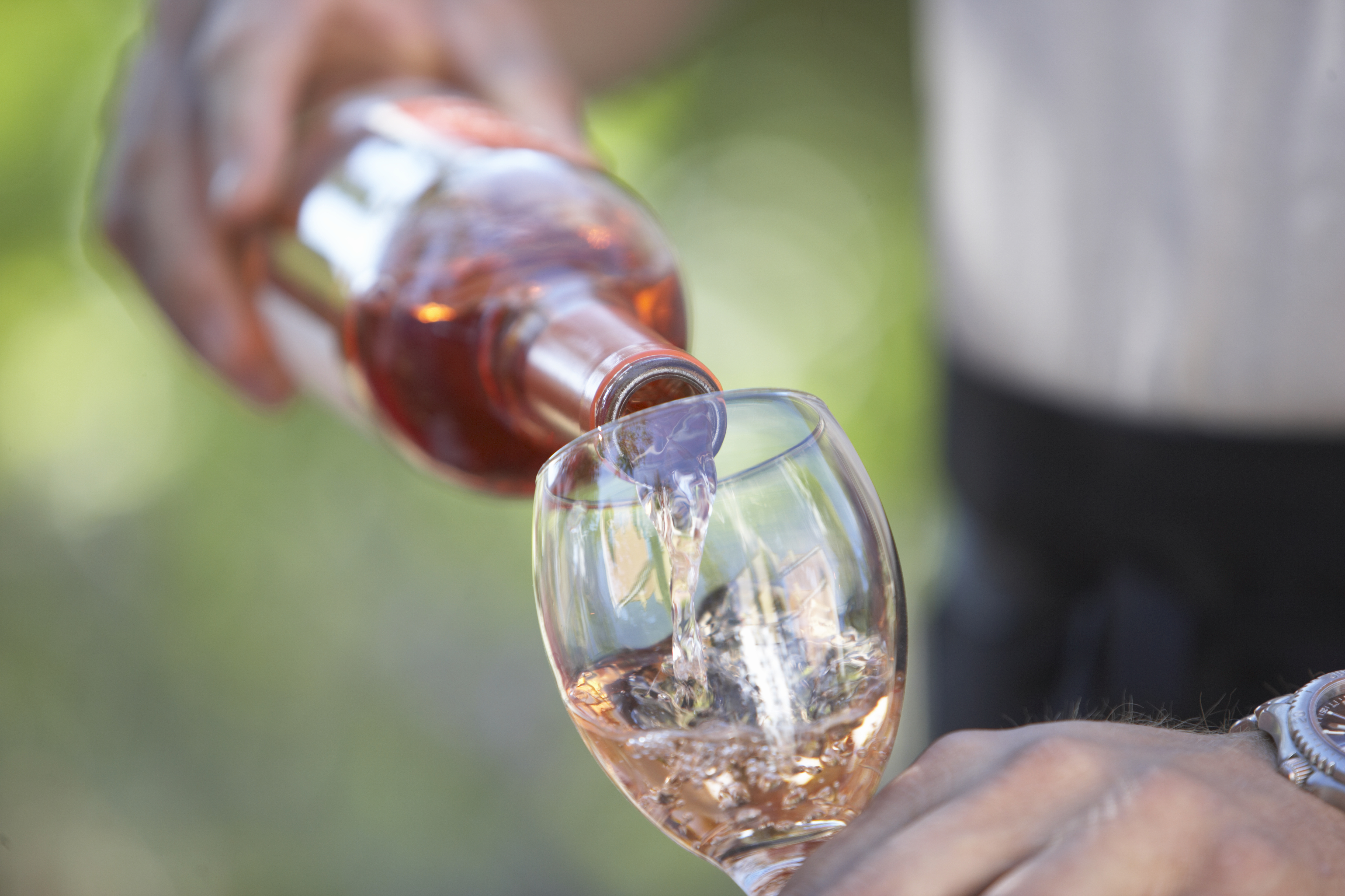 Celebrate the month of love with a glass of rosé wine!