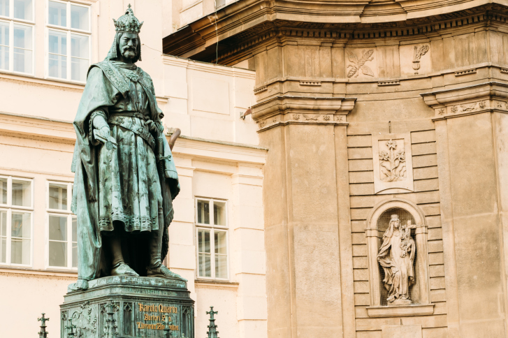 Prague largely bears the hallmarks of the Czech king and Holy Roman Emperor Charles IV.