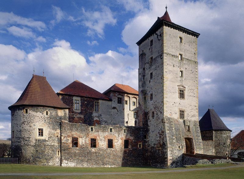 Švihov water castle