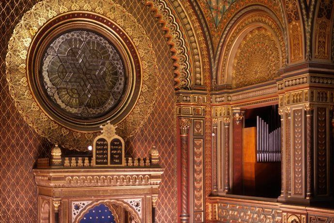 Czech Republic The Spanish Synagogue In Prague
