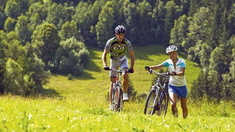 Cycling trip in the Beskids