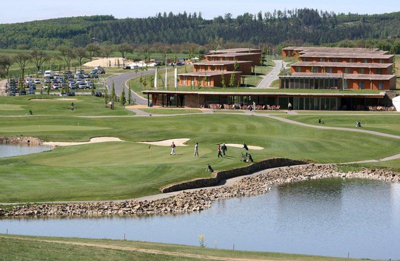 Golf in stile imperiale
