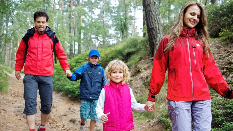 Krkonoše Mountains - family hiking