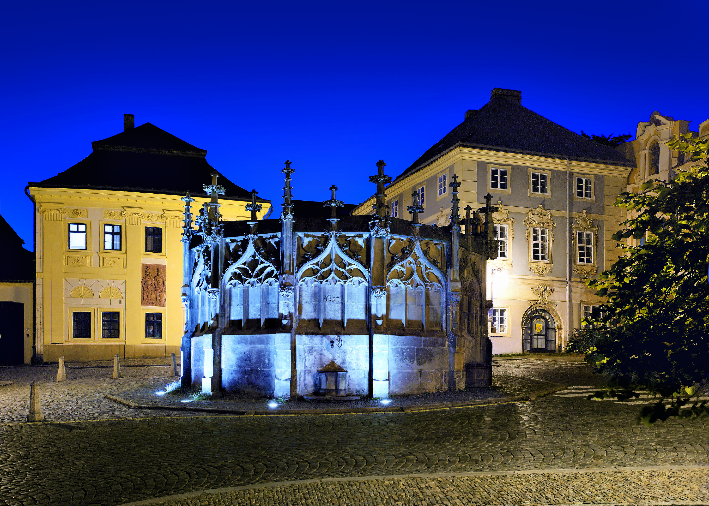 Stone Fountain in Kutná Hora