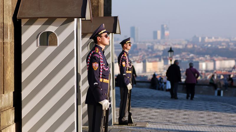 Prague Castle - castle guard