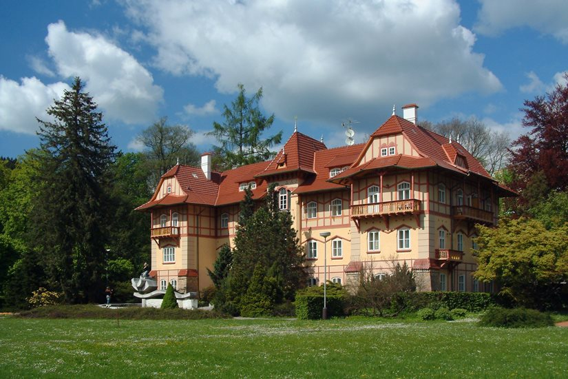 Jestřábí Spa House in Luhačovice