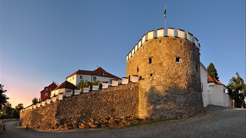 Písek - fortifications