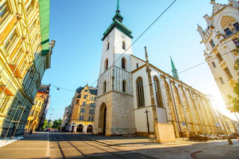 Church of St. James the Greater in Brno