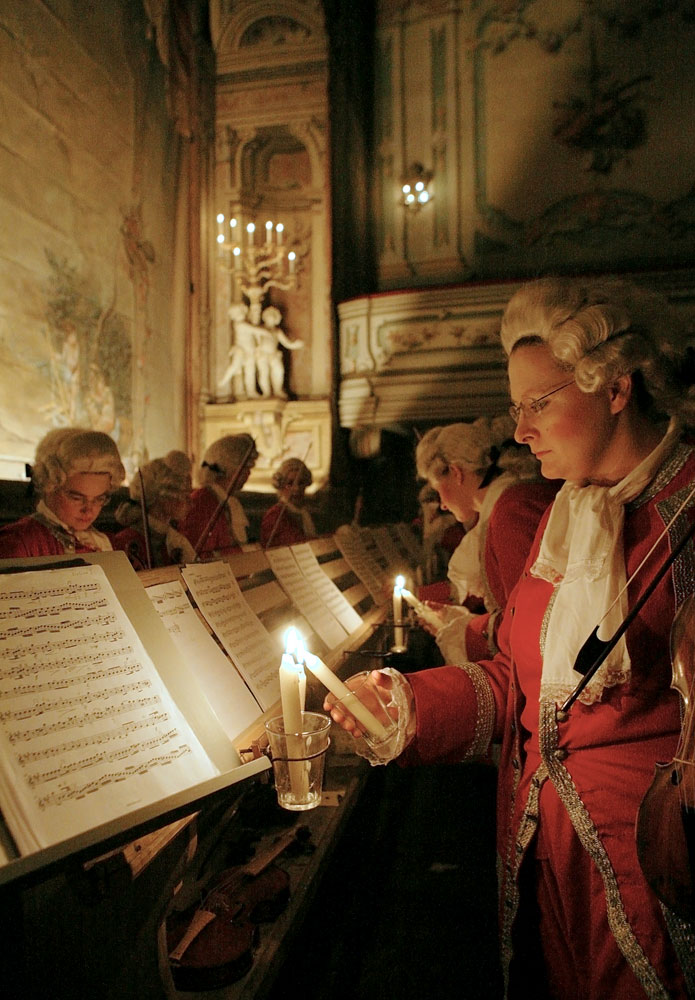 Orchestra of the Baroque theatre