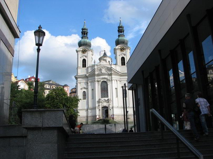 Church of St. Mary Magdalene in Karlovy Vary