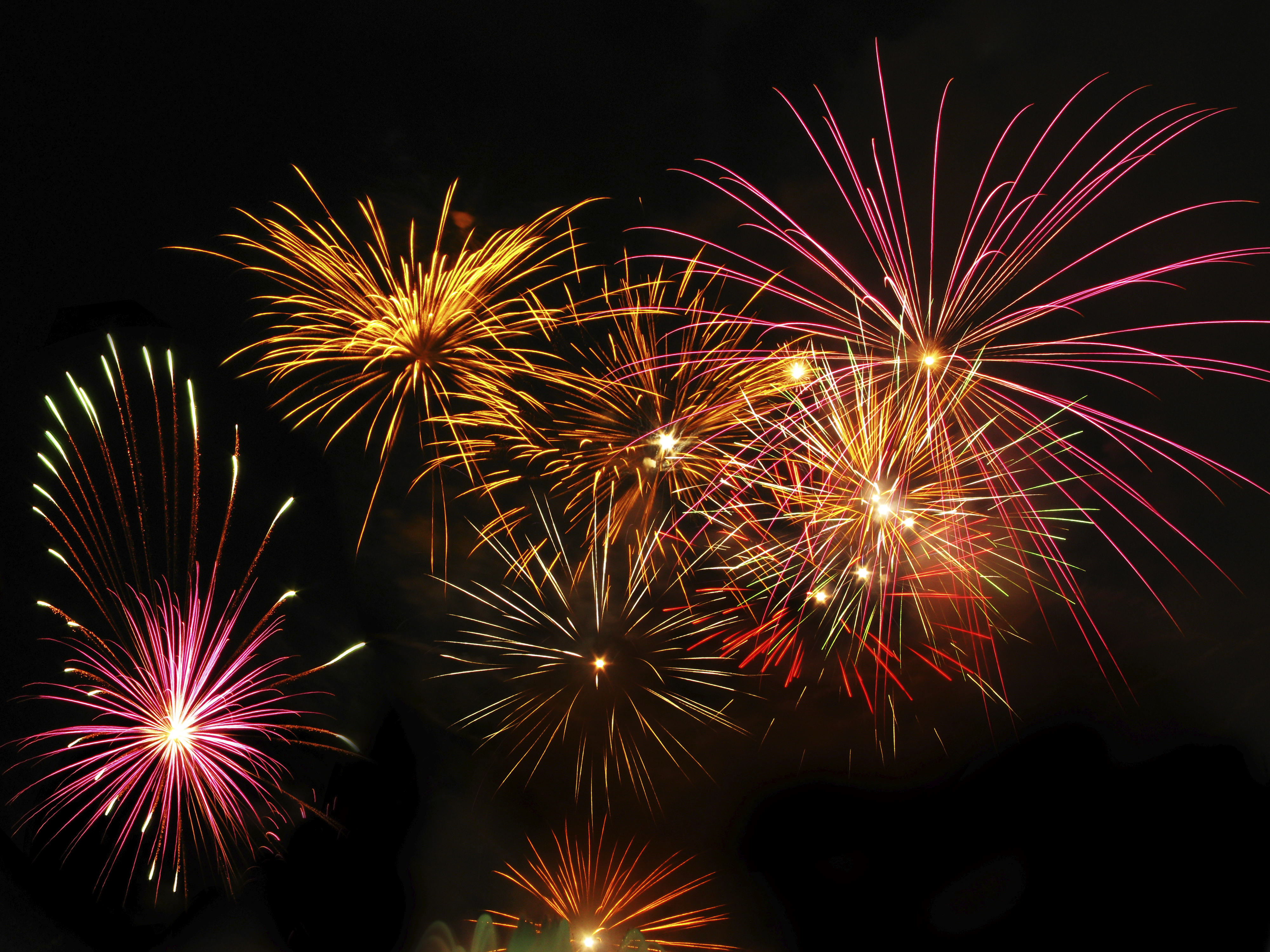 A fireworks show will light up the night over Brno!