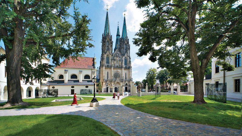Olomouc - St. Wenceslas Cathedral