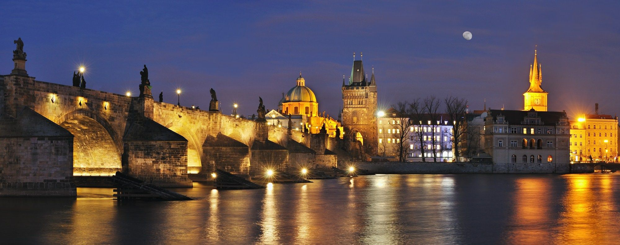 Charles Bridge and bridge towers