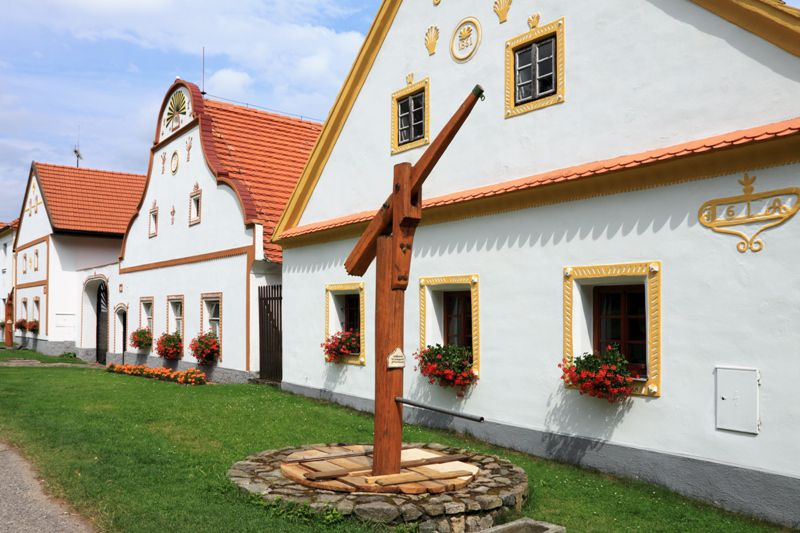 Come to a crafts festival in a beautiful Czech village registered as a UNESCO site!