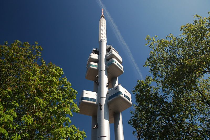 TV tower in Žižkov