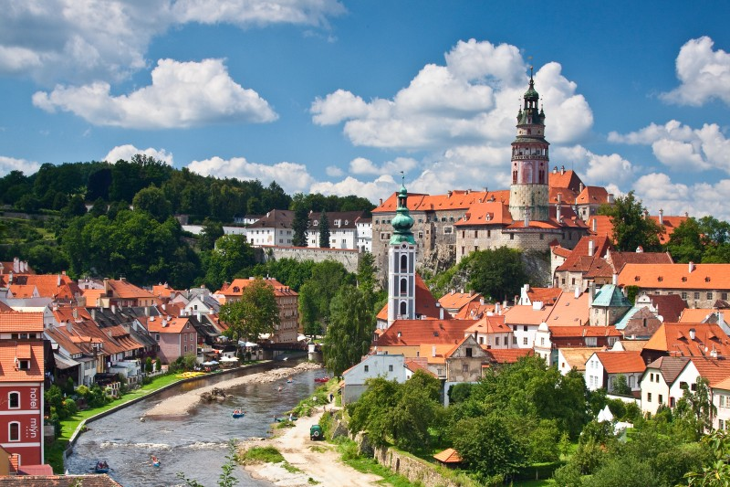 Based on the ranking which was issued by TripAdvisor, Český Krumlov is one of the ten breathtaking European cities.