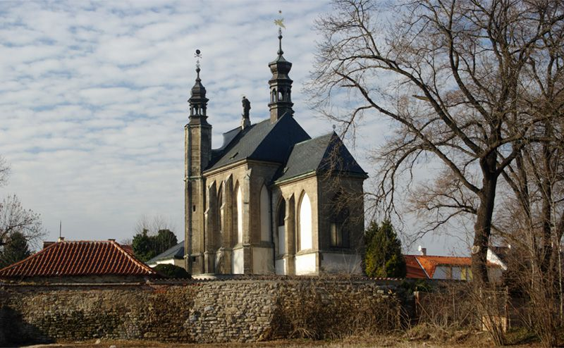 Kutná Hora - Chapel of All Saints in Sedlec
