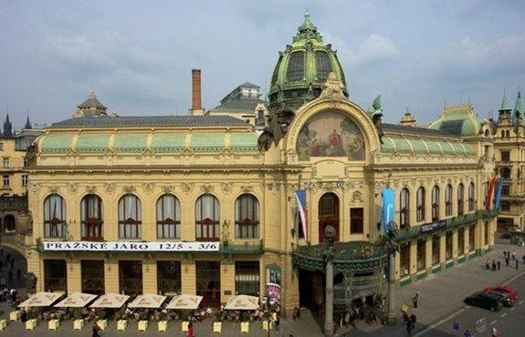 Czech Republic La Maison Municipale De Prague