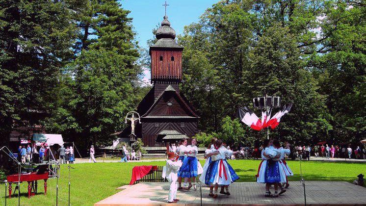 La fête de Rožnov pod Radhoštěm