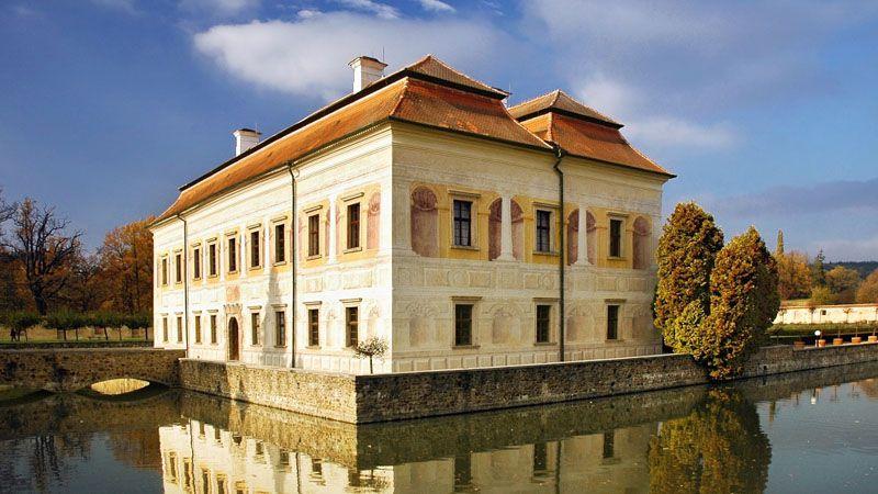 Le château de Kratochvíle