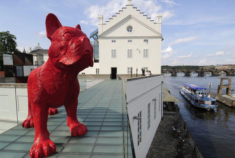 Praga - Galería Sovovy mlýny