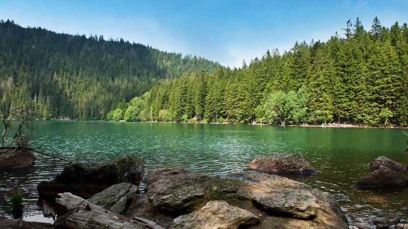 Šumava lakes