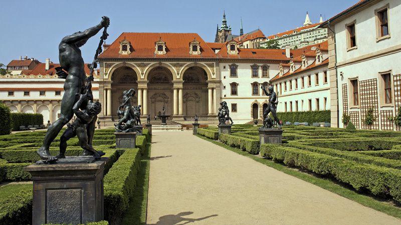 Les jardins Valdštejn