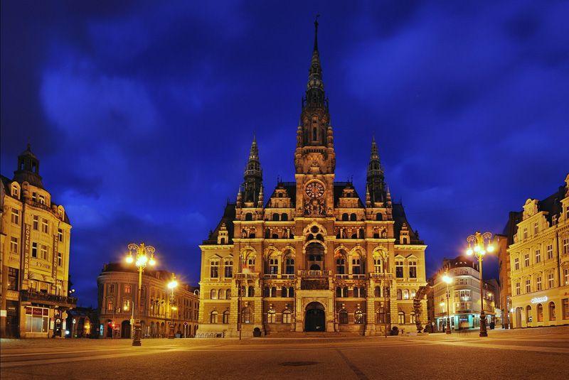 Liberec - l'hôtel de ville