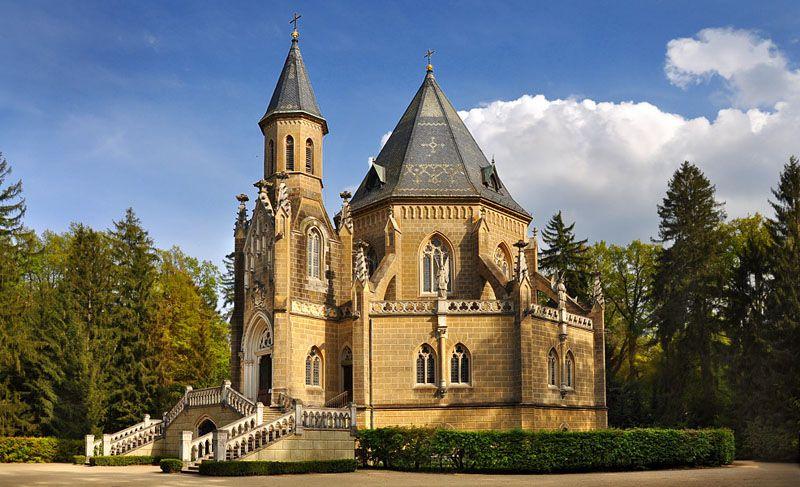 Třeboň - Schwarzenberg Tomb in Domanín