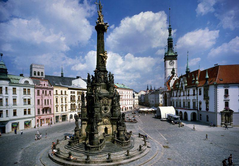 Olomouc - Piazza Superiore