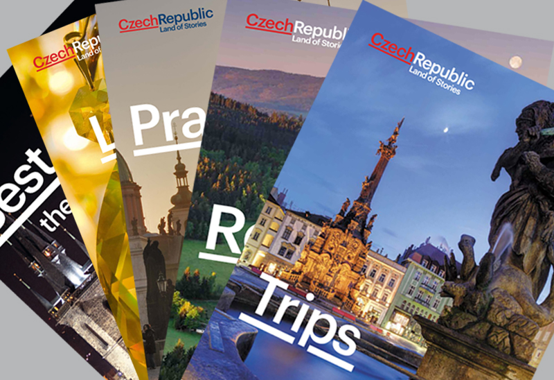 Do you want to read about the mountains of the Czech Republic, or would you prefer its mysterious castles and chateaux? Download our brochures, in PDF format, and have them by your side.