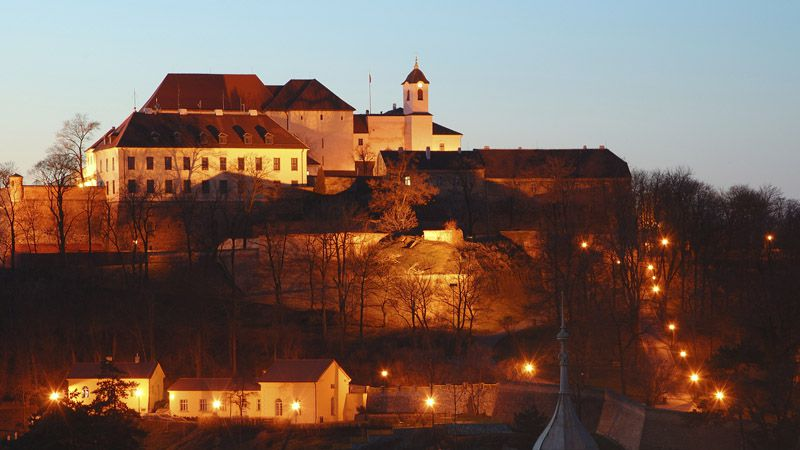 Le château fort de Špilberk