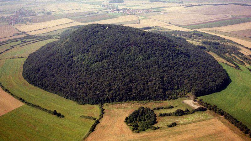 Der Berg Říp
