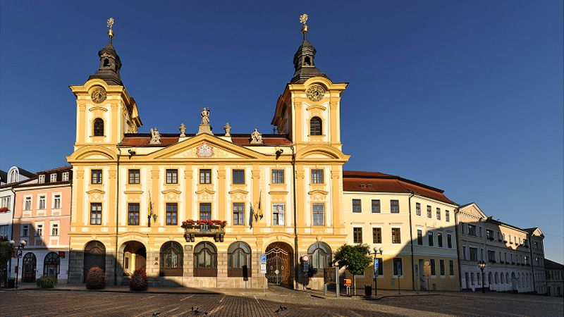 Písek - l'hôtel de ville