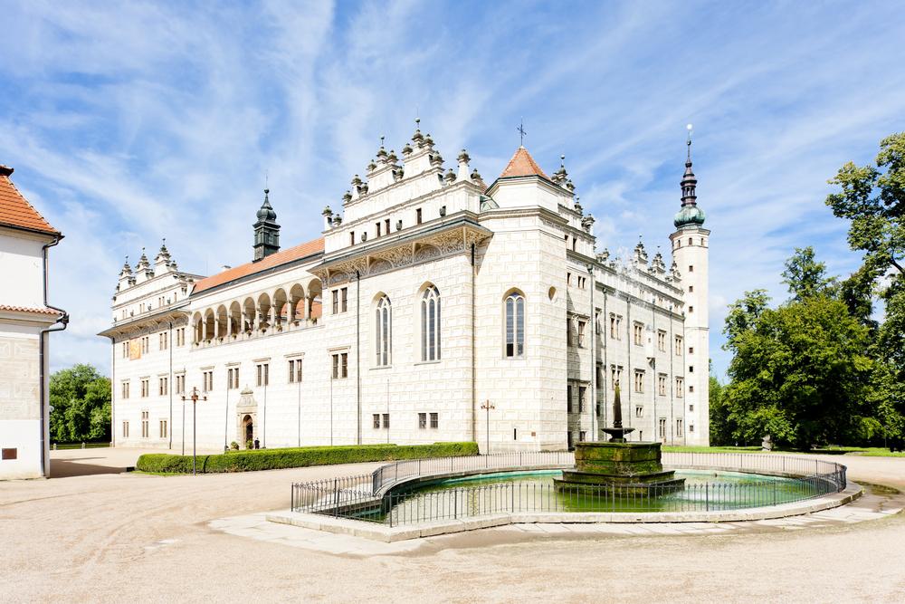 O palácio e o conjunto palacial de Litomyšl