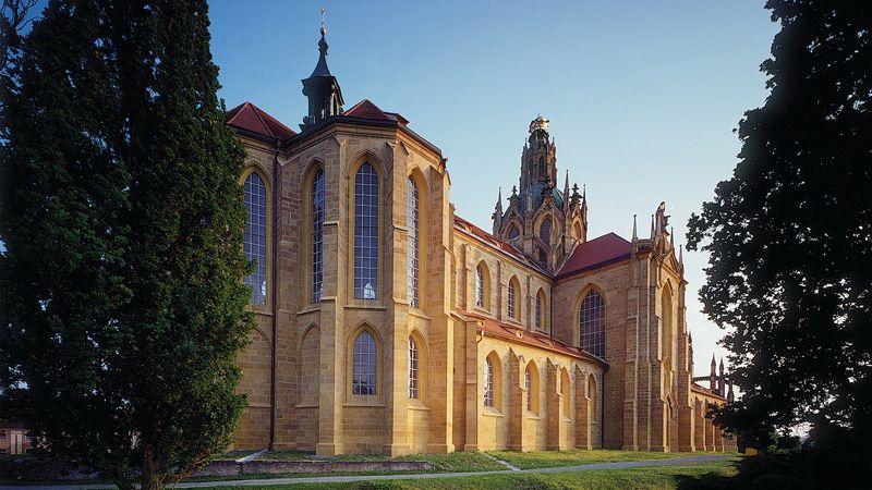 Monasterio Kladruby - Iglesia de la Asunción de la Virgen María