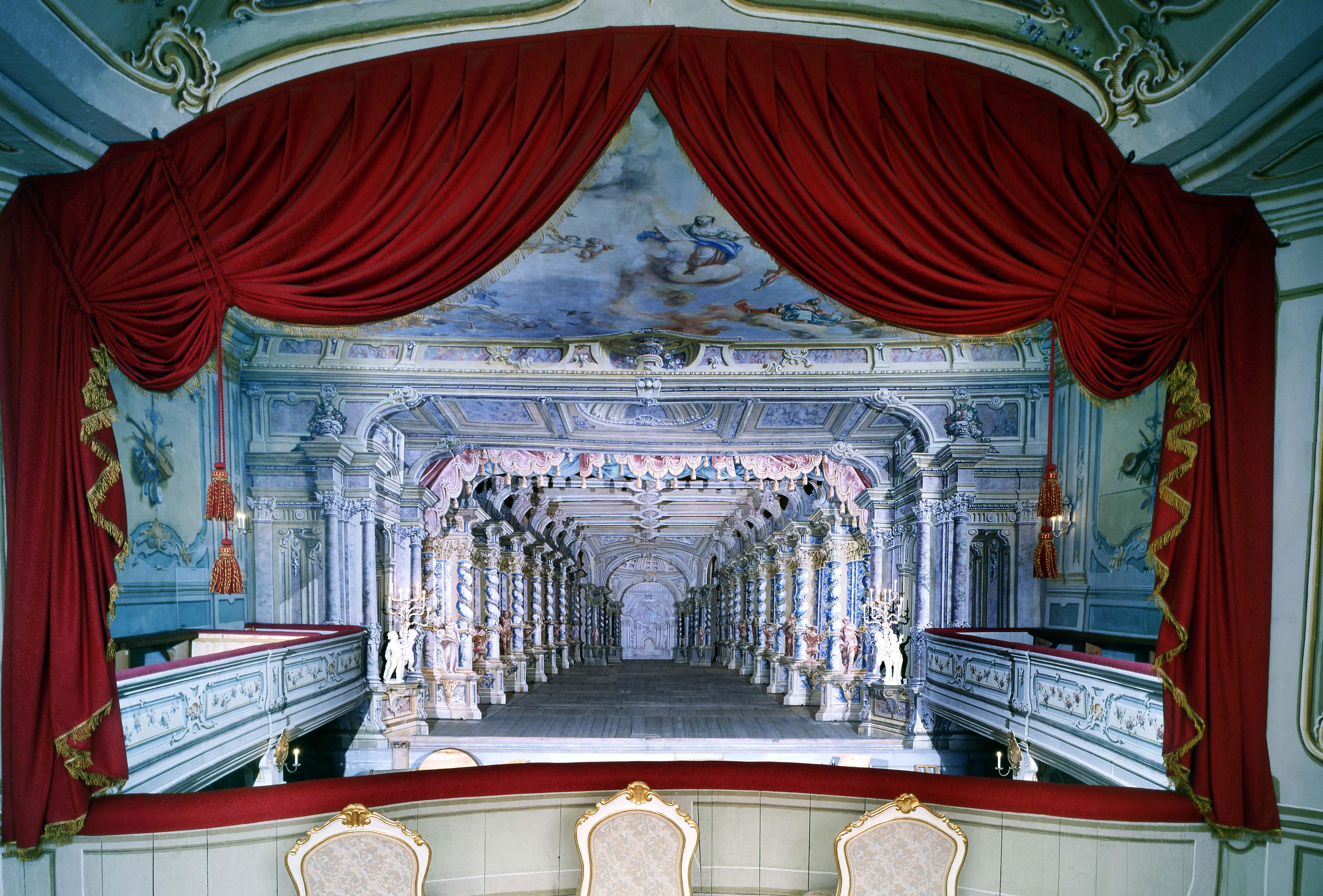 Czeski  Krumlov – teatr zamkowy