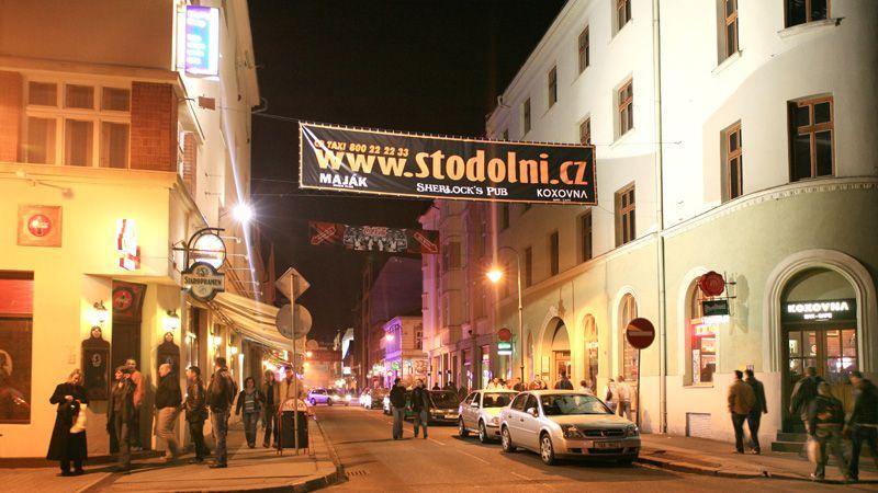 Ostrava – die Straße Stodolní