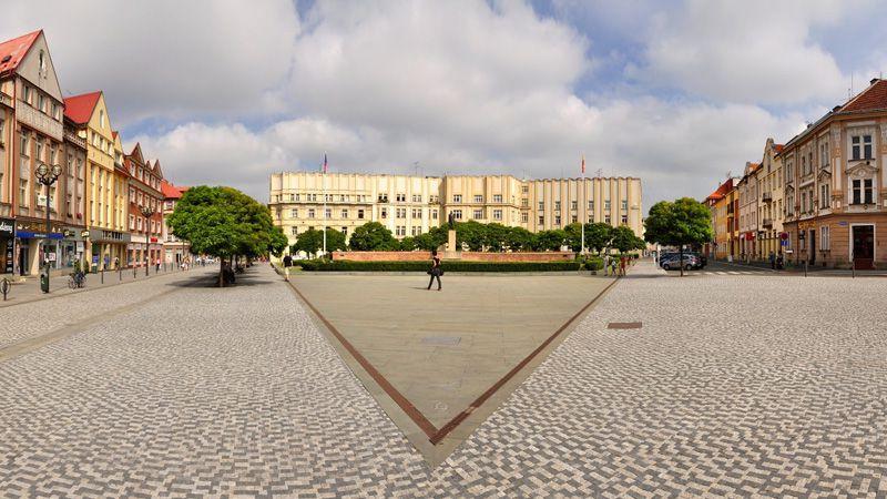 Hradec Králové - Plaza de Masaryk