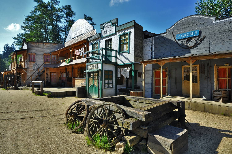Šiklův mlýn Wild West Town