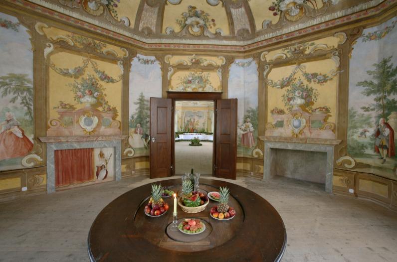 Bellarie Rococo summer palace in Český Krumlov