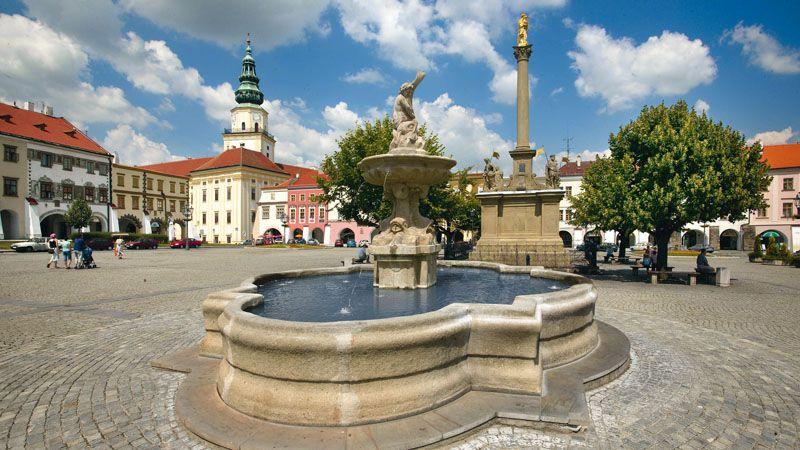 Kroměříž – das Erzbischöfliche Schloss