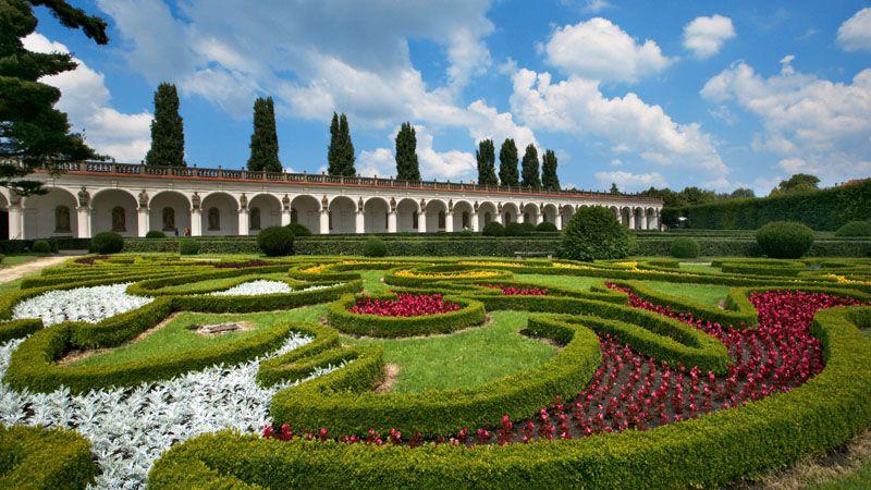 Kroměříž - Jardín Florido